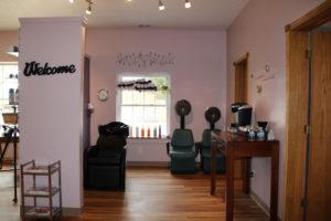 Zarubas Salon and Day Spa hair washing station